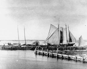 Westport Point wharves