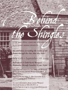 Behind the Shingles