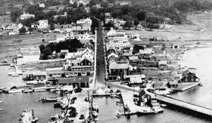 Aerial photo of Westport Point
