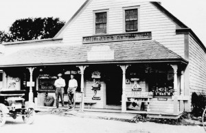 Post office and store