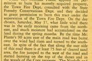 fire on Horseneck