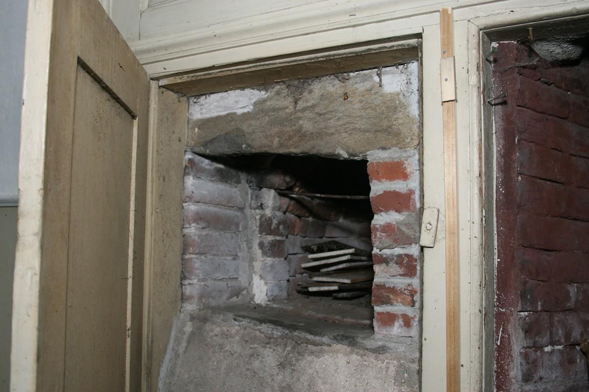 Fireplace Trap Door Period Ii 1780 C 1812 Westport Historical Society