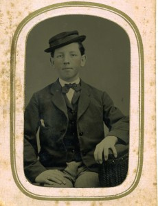 Abbott Smith as a young man