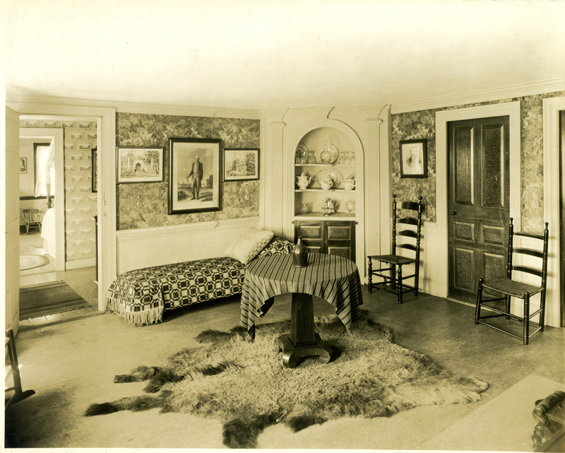 Parlor Featuring Furniture And Antiques Collected By Abbott Smith